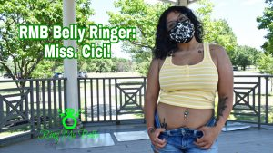double belly piercing cici
