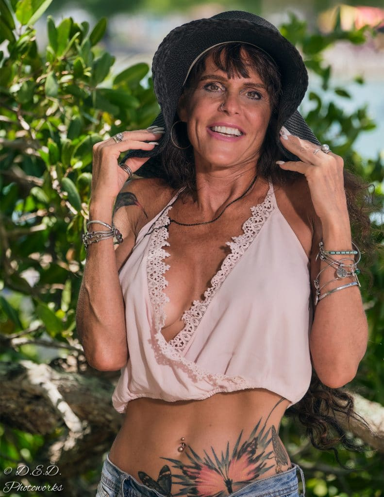 Miss. Dana Marie 50 plus model