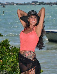 Miss Dana Marie 50 Plus Model Belly Ring